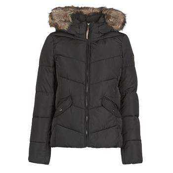 Textiel Dames Dons gevoerde jassen Only ONLROONA Zwart