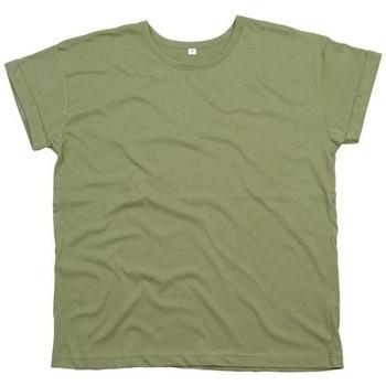 Textiel Dames T-shirts korte mouwen Mantis M193 Olijf