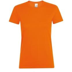 Textiel Dames T-shirts korte mouwen Sols 01825 Oranje