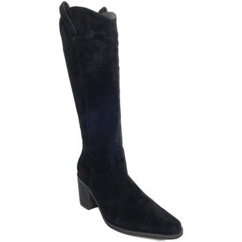 Schoenen Dames Hoge laarzen Prisska TY1067 Negro
