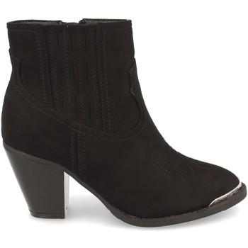 Schoenen Dames Enkellaarzen Prisska Y56777 Negro