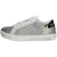 Schoenen Meisjes Lage sneakers Shop Art SA0400 Silver
