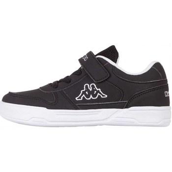 Schoenen Kinderen Lage sneakers Kappa Dalton Ice K Blanc, Noir