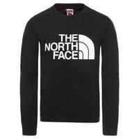 Textiel Jongens Sweaters / Sweatshirts The North Face DREW PEAK LIGHT CREW Zwart