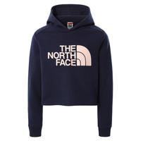 Textiel Meisjes Sweaters / Sweatshirts The North Face DREW PEAK CROPPED HOODIE Marine