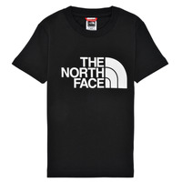 Textiel Jongens T-shirts korte mouwen The North Face EASY TEE Zwart