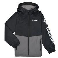 Textiel Jongens Wind jackets Columbia DALBY SPRINGS JACKET Zwart / Grijs