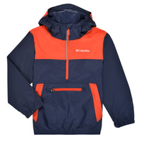Textiel Jongens Windjacken Columbia BLOOMINGPORT WINDBREAKER Marine / Rood