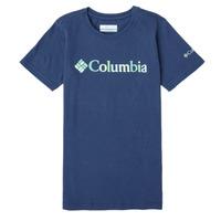 Textiel Meisjes T-shirts korte mouwen Columbia SWEET PINES GRAPHIC Marine