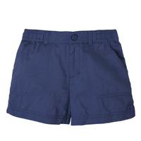 Textiel Meisjes Korte broeken / Bermuda's Columbia SILVER RIDGE SHORT Marine
