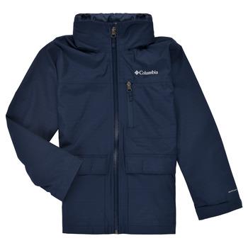 Textiel Jongens Parka jassen Columbia VEDDER PARK JACKET Marine