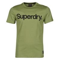 Textiel Heren T-shirts korte mouwen Superdry MILITARY GRAPHIC TEE 185 Olijf