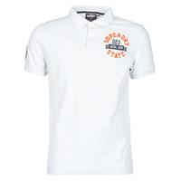 Textiel Heren T-shirts korte mouwen Superdry CLASSIC SUPERSTATE S/S POLO Grijs