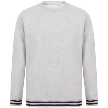 Textiel Sweaters / Sweatshirts Front Row FR840 Heide Grijs/Navy
