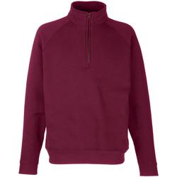 Textiel Sweaters / Sweatshirts Fruit Of The Loom SS17 Bordeaux