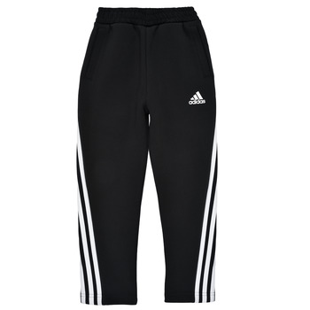 Textiel Jongens Trainingsbroeken adidas Performance B 3S TAPERED P Zwart
