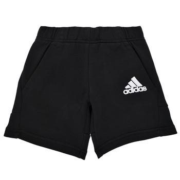 Textiel Jongens Korte broeken / Bermuda's adidas Performance B BOS SHORT Zwart