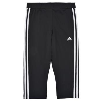 Textiel Meisjes Leggings adidas Performance G 3S 34 TIG Zwart