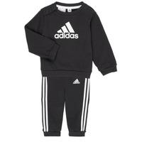 Textiel Kinderen Setjes adidas Performance BOS JOG FT Zwart