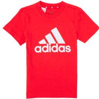 Textiel Jongens T-shirts korte mouwen adidas Performance B BL T Rood
