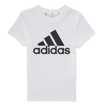 Textiel Jongens T-shirts korte mouwen adidas Performance B BL T Wit
