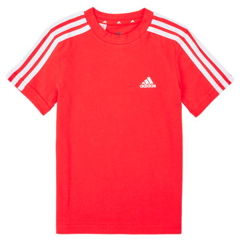 Textiel Jongens T-shirts korte mouwen adidas Performance B 3S T Rood