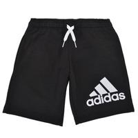 Textiel Jongens Korte broeken / Bermuda's adidas Performance B BL SHO Zwart
