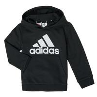 Textiel Jongens Sweaters / Sweatshirts adidas Performance B BL HD Zwart