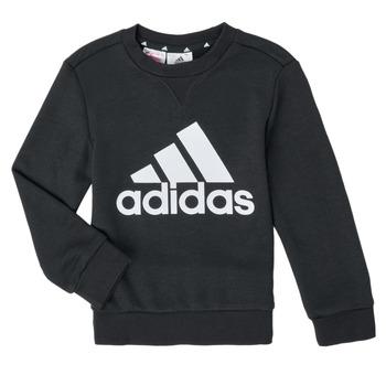 Textiel Jongens Sweaters / Sweatshirts adidas Performance B BL SWT Zwart