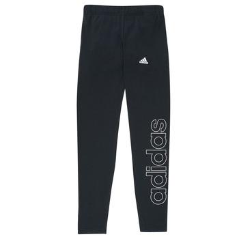 Textiel Meisjes Leggings adidas Performance G LIN LEG Zwart