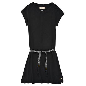 Textiel Meisjes Korte jurken Deeluxe TIME Zwart