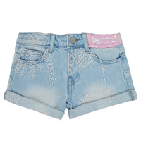 Textiel Meisjes Korte broeken / Bermuda's Desigual 21SGDD05-5010 Blauw