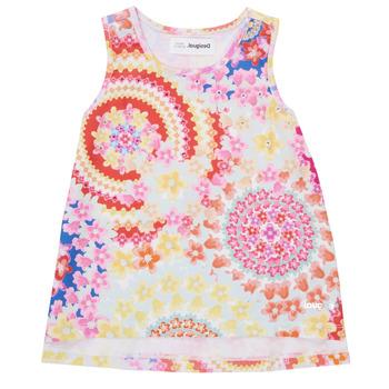 Textiel Meisjes Mouwloze tops Desigual 21SGCW02-3146 Multicolour