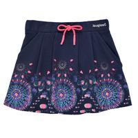 Textiel Meisjes Rokken Desigual 21SGFK03-5000 Blauw
