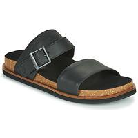 Schoenen Heren Leren slippers Timberland AMALFI VIBES 2BAND SANDAL Zwart