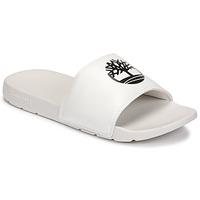 Schoenen Leren slippers Timberland PLAYA SANDS SPORTS SLIDE Wit