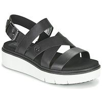 Schoenen Dames Sandalen / Open schoenen Timberland SAFARI DAWN FRONT STRAP Zwart