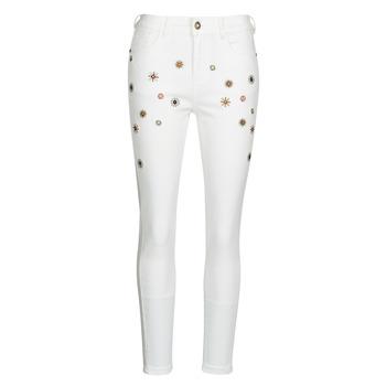 Textiel Dames Skinny jeans Desigual AUSTRIA Wit
