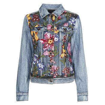 Textiel Dames Spijker jassen Desigual BALT Blauw