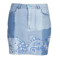 Textiel Dames Rokken Desigual BE BLUE Blauw