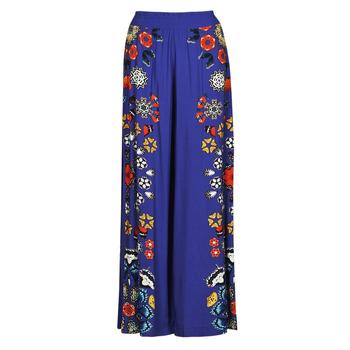 Textiel Dames Losse broeken / Harembroeken Desigual CHIPRE Blauw