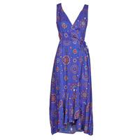 Textiel Dames Lange jurken Desigual SANTORINI Marine