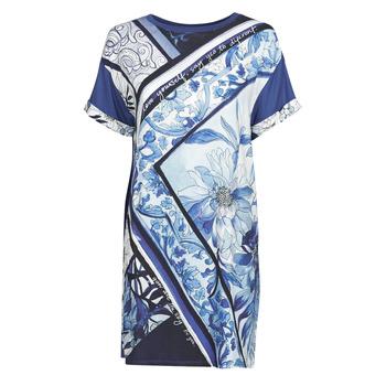 Textiel Dames Korte jurken Desigual SOLIMAR Blauw