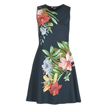 Textiel Dames Korte jurken Desigual KILKENY Marine