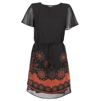 Textiel Dames Korte jurken Desigual TAMPA Zwart