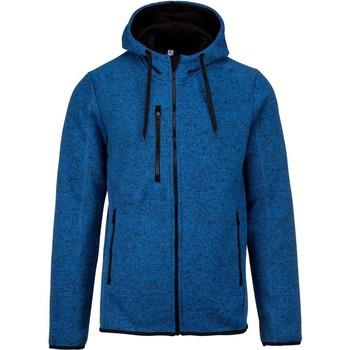 Textiel Heren Sweaters / Sweatshirts Proact PA365 Licht Koninklijk Blauw Melange
