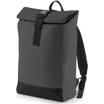 Tassen Rugzakken Bagbase BG138 Zwart Reflecterend