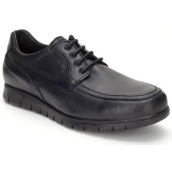 Schoenen Heren Derby Keelan Calzados Zapatos con cordones de piel by Casual Noir