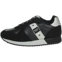 Schoenen Meisjes Lage sneakers Blauer LILLI02 Black