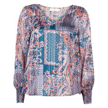 Textiel Dames Tops / Blousjes Cream SHEENA BLOUSE Blauw